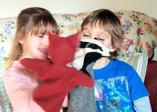 Woodland Creatures Glove Puppets