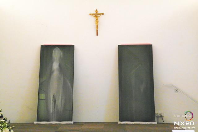 virgin mary in klang church