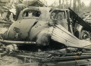 Tarakan 1945, Japanese staff-car