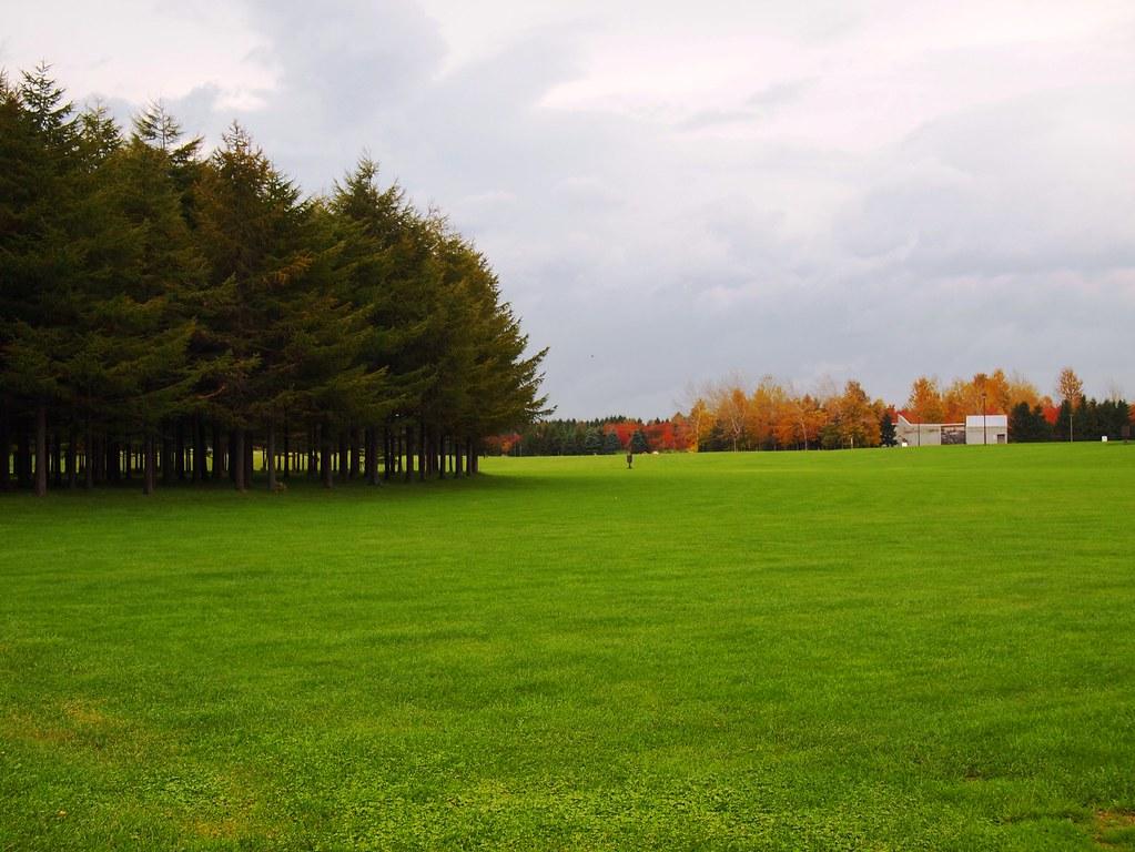 Noguchi's Moerenuma Park at Sapporo, Hokkaido, Japan  life to reset