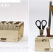 Wooden Pen Holder from WoodFlex Series by Antoine Tesquier Tedeschi by Hu2 Design & Art