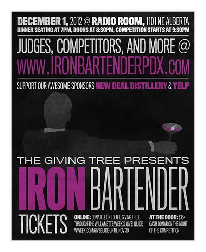 Iron Bartender Portland @ Radio Room