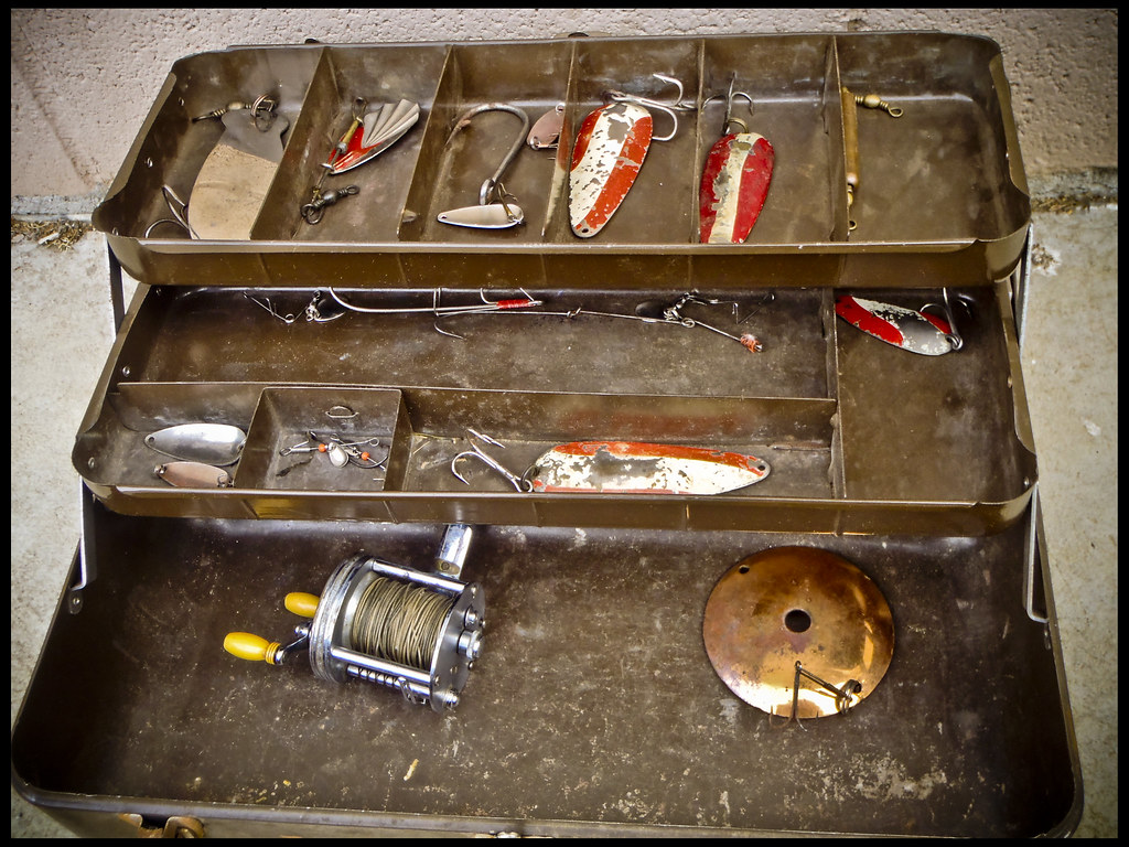 Let 39 s see your taclke box fishing tackle bass fishing for Bass fishing tackle box