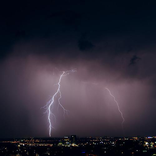 sky storm skyline night clouds buildings gaby thunderstorm lightning bernstein thunderbolt thunderbolts lightnings bernsteingaby gabybernstein