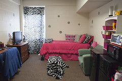 Picture of room with bed and dresser