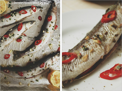 Quick Hot Roasted Fish