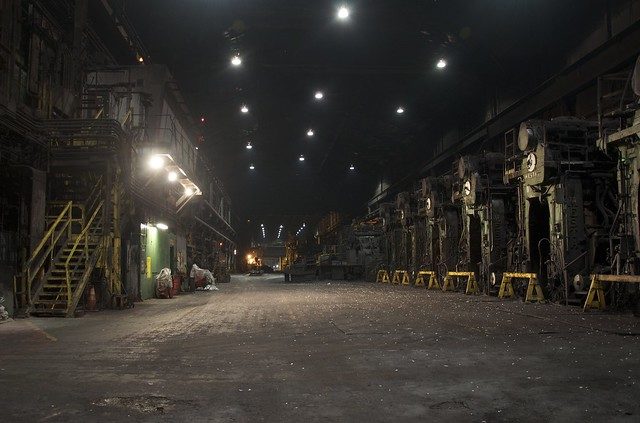 Ravens Peak Steel Mill
