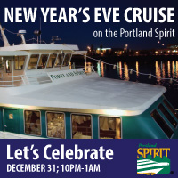New Year's Eve Cruise @ Portland Spirit