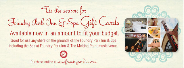 Gift Cards Available at the Foundry!