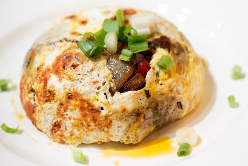 Veggie yemeni omelette
