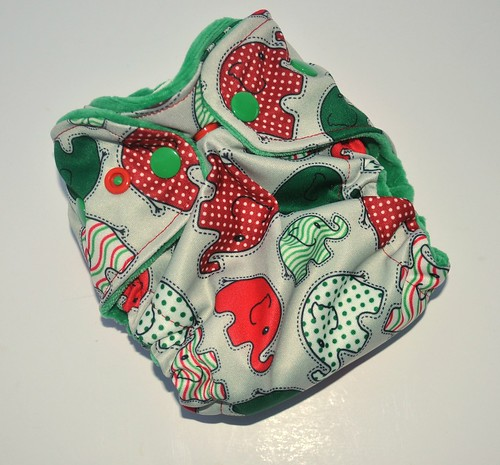Bumstoppers Newborn Ai2 Christmas Elephants *New Style*