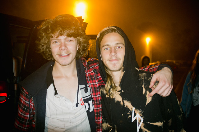 Taylor Kirby & Riley Hawk