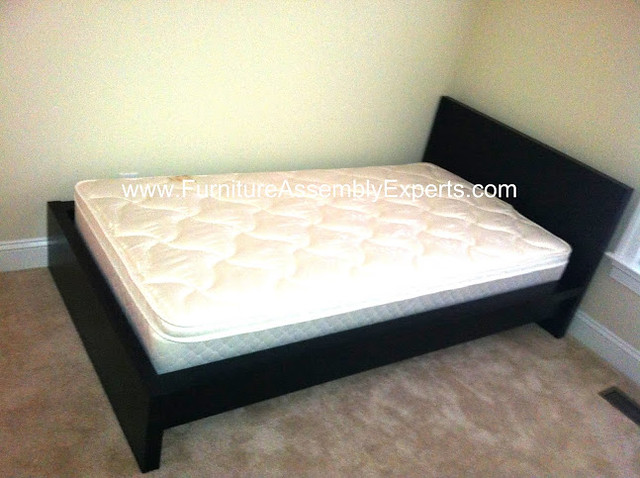 ikea malm bed assembly service in laurel md flickr