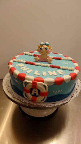 Swimming Certificate Cake by CAKE Amsterdam - Cakes by ZOBOT