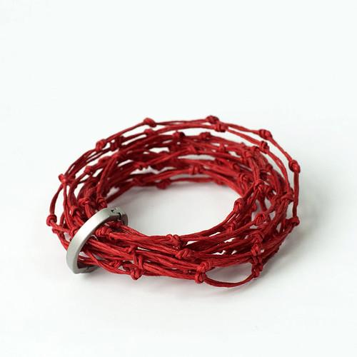 paper-twine-knot-bracelet