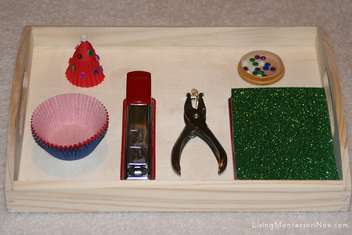 Turning Christmas Crafts into Montessori-Oriented Activities