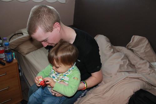 Gareth with Cody
