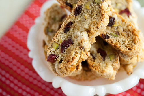 Christmas Week: Cranberry-Pistachio Christmas Biscotti - Crumb: A Food ...