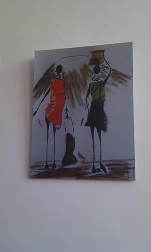 Cuadro ilustración Tanzania