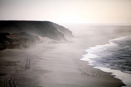 ocean africa coast seaside northafrica dune tracks morocco maroc afrique westernsahara saharaoccidental
