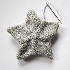 Iron Craft Challenge #24 - Knit Star Ornaments