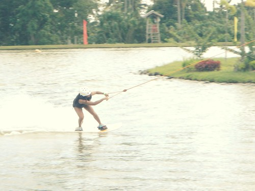 Wakeboarding in DECA Davao City