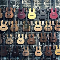 [Free Images] Objects, Musical Instruments, Ukulele ID:201212080400