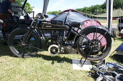 RAVAT 250cc ESS6 1928 ( De ) by vintage-revival