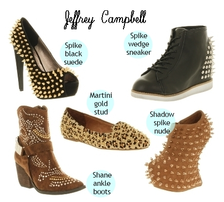 Jeffrey Campbell Spiked and Studded Shoes