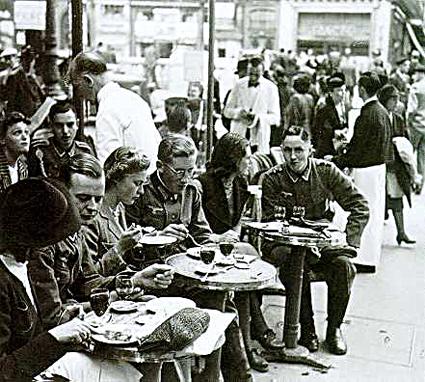 12l04 Soldados franceses en París 1941 variante Uti 425