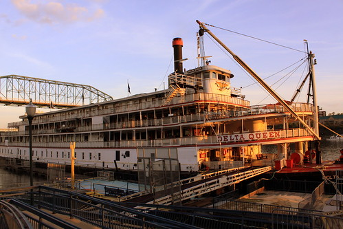 The Delta Queen just before Sunset