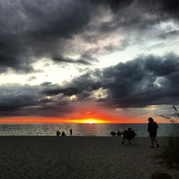 Sunset on Englewood Beach, Florida, USA | Flickr - Photo ...