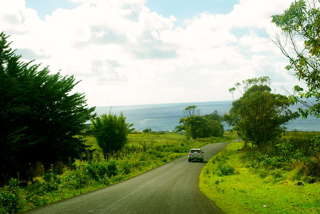easter island trave, island drive