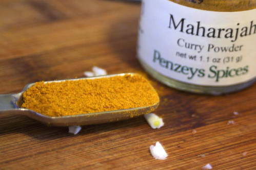 Curry powder for lentil soup