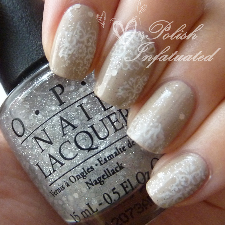 neutral filigree stamping