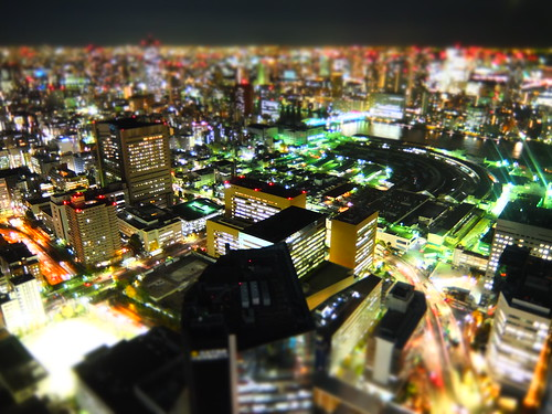 Tsukiji miniature night