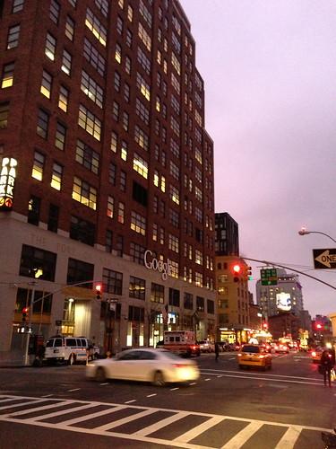 Google's NY HQ