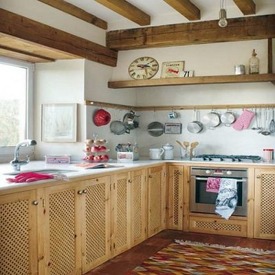 Fotos de diseno de cocinas rusticas - Cocinas rusticas de obra fotos ...