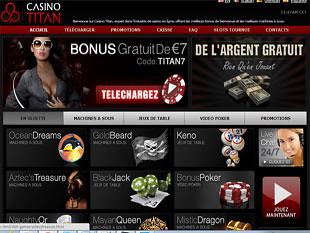 Titan Casino Home
