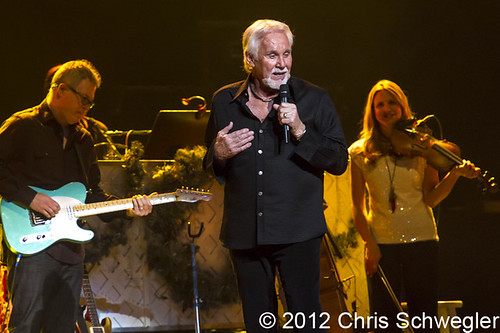 Kenny Rogers - 12-13-12 - Christmas And Hits Tour, Fox Theatre, Detroit, MI