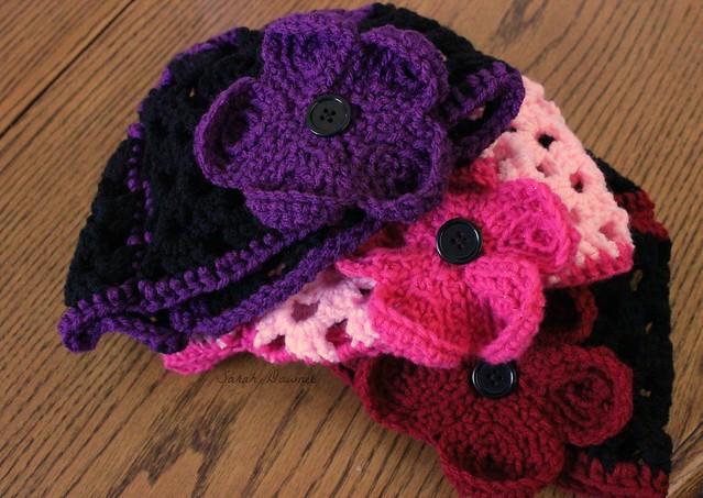 Flower hats...