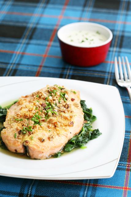 Oat-crusted salmon / Kaerahelbepaneeringus lõhefilee