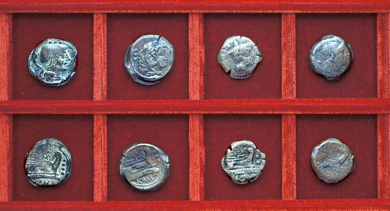 RRC 216 L.SEMP PITIO Sempronia bronzes, Ahala collection, coins of the Roman Republic