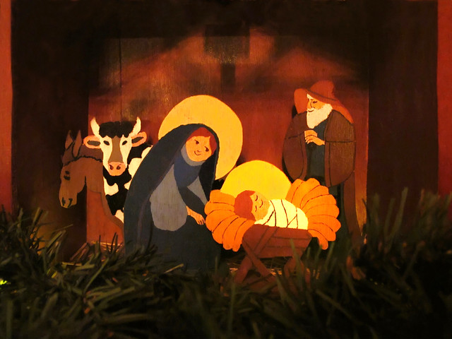 Holy Family in the Stable * MERRY CHRISTMAS to all my flickr friends*