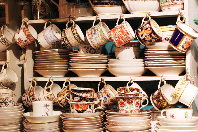 antique china in camden passage islington