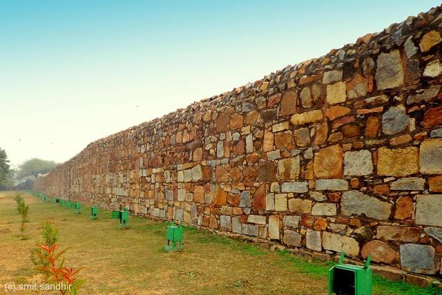 Walls of Jahanpanah, Saket
