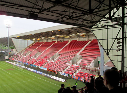 East Stand, East End Park, Dunfermline.