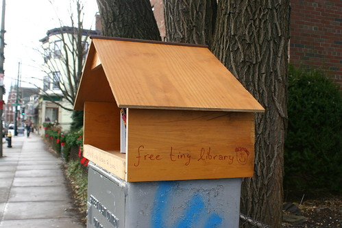 Little Free Library on South Street v1
