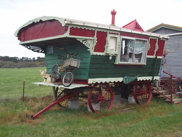 Original Horsedrawn Caravan  Growing Up In Ireland  Pinterest