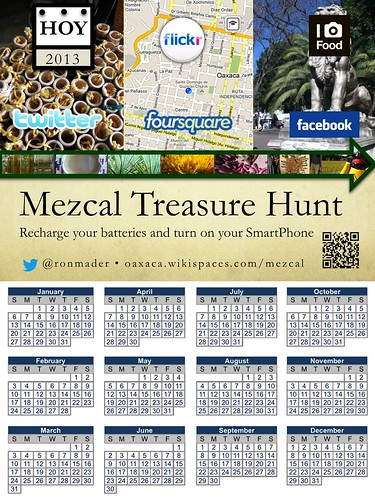 Mezcal Treasure Hunt (2013 Calendar)